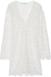 Melissa Odabash Alanna Cotton Lace Coverup White
