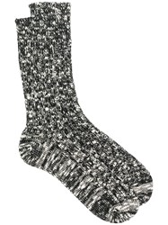 Undercover Chunky Knit Socks Black
