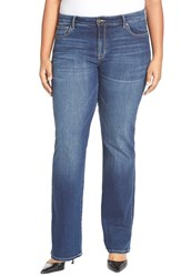 Cj By Cookie Johnson 'Life' Stretch Baby Bootcut Jeans Plus Size Pop