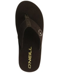 O'neill Phluff Daddy Thong Sandals Brown