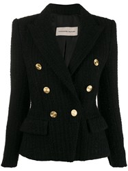 Alexandre Vauthier Classic Fitted Blazer Black