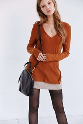 Project Social T Christy Tunic Tee Brown