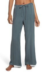 Lacausa Vela Stripe Lounge Pants Sage