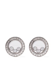 Chopard 18Kt White Gold Happy Diamonds Icons Ear Pins Unavailable