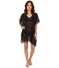 Seafolly Future Tribe Amnesia Kaftan Cover Up Black Women's Swimwear
