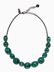 Kate Spade Absolute Sparkle Necklace Green Multi