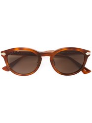 Gucci Eyewear Tortoiseshell Oval Sunglasses Women Acetate Titanium 50 Brown