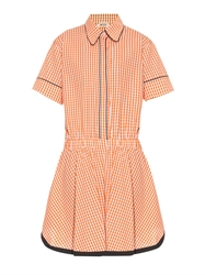 N 21 Gingham Check Shirt Dress