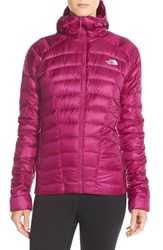 The North Face Women's 'Quince' Water Repellent Down Jacket Dramatic Plum