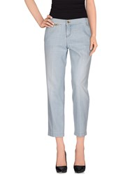 Gucci Denim Denim Trousers Women Blue