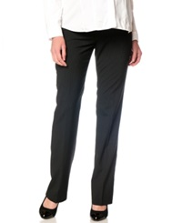 Motherhood Maternity Straight Leg Pinstripe Dress Pants