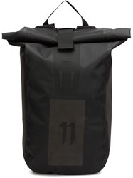 11 By Boris Bidjan Saberi 'Velocity' Backpack Black
