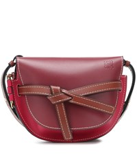 Loewe Gate Small Leather Crossbody Bag Red