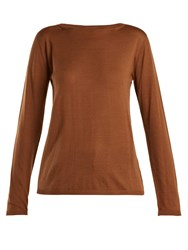 Max Mara Charles Sweater Brown