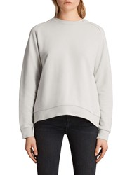 Allsaints Yara Laced Jumper Ice White