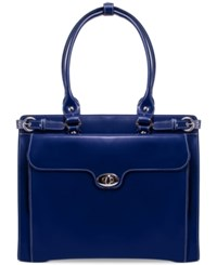 Mcklein Winnetka Briefcase Navy