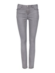 Wallis Grey Zip Pocket Skinny Trouser