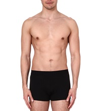 Zegna Cotton Trunks Black