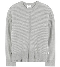 Acne Studios Java Wool Knitted Sweater Grey