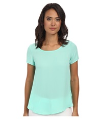 Gabriella Rocha Kimberley Chiffon Top Mint Women's Blouse Green
