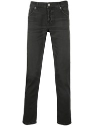 Dondup Straight Leg Jeans Grey