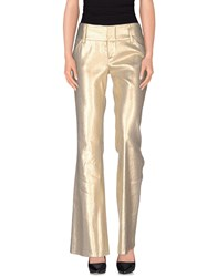 Alice Olivia Alice Olivia Trousers Casual Trousers Women Gold