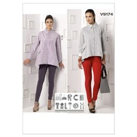 Vogue Women's Shirts And Trousers Sewing Pattern 9174