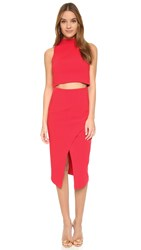 Black Halo Juma 2 Piece Dress Chic Red