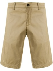 Moncler Tailored Bermuda Shorts Nude And Neutrals