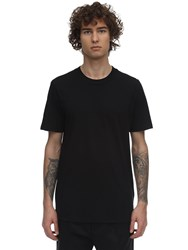 Jil Sander Cotton Jersey T Shirt Black