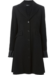 Yang Li Single Breasted Coat Black