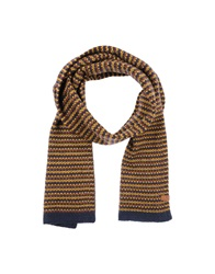 Ben Sherman Oblong Scarves Dark Blue