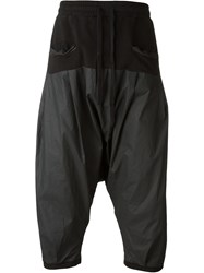 Unconditional Drop Crotch Track Pants Grey