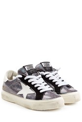 Golden Goose Glitter May Sneakers Multicolor