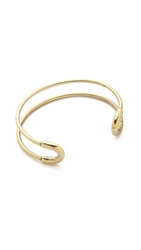Giles And Brother Mini Cortina Bracelet Brass Ox