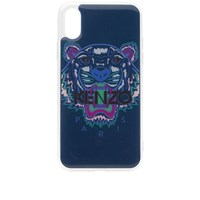 Kenzo Iphone X Tiger Case Blue