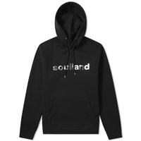 Soulland Logic Logo Hoody Black
