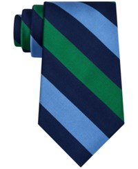 Club Room Men's Triple Bar Stripe Tie Only At Macy's Kiwi