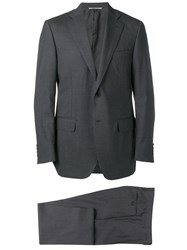 Canali Classic Formal Suit Grey