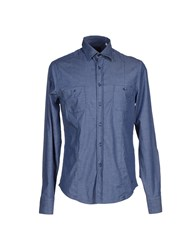 Murphy And Nye Shirts Shirts Men Dark Blue