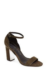 Women's Sole Society 'Paden' Sandal Olive Suede