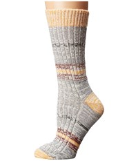 Wigwam Mingle Yam Women's Crew Cut Socks Shoes Orange