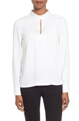 Women's Boss 'Ismeta' Stand Collar Blouse