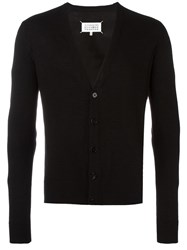 Maison Martin Margiela Elbow Patch Cardigan Black