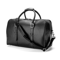 Aspinal Of London Men's Shadow Holdall Black