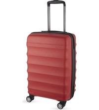 Antler Juno B1 Four Wheel Cabin Case 56Cm Red