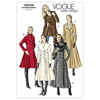Vogue 'S Coats Sewing Pattern 8346
