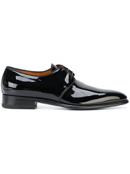Santoni Classic Derby Shoes Black