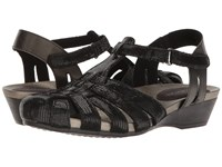 Aravon Standon Fisherman Black Women's Sandals