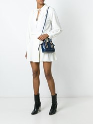 See By Chloe Tied Neckline Blouse White